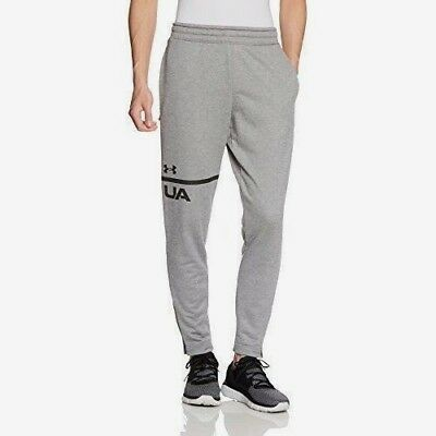 Under Armour Ua Mens Mk1 Terry Tech Tapered Gray Sweat Pants Many Size Rt$55 New