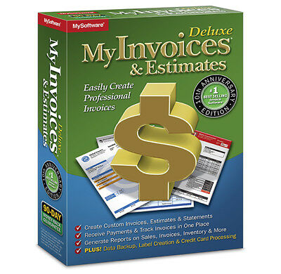 Avanquest My Invoices & Estimates Deluxe 10.0, 1# Best Selling Invoice & Billing