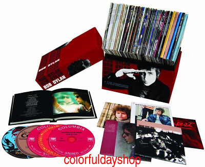 "CD Bob Dylan ""The Complete Album Collection"" 47 CDs Colossal Box Set+ free gift"