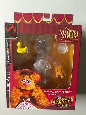 Muppet Show SDCC EXCLUSIVE INVISIBLE SPRAY FOZZIE BEAR Figure Muppets From Space