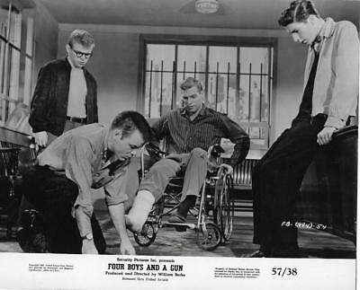 "Scene from ""Four Boys And A Gun"" Vintage Movie Still"