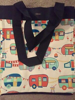 Thirty One   Essential Storage Tote   Happy Camper