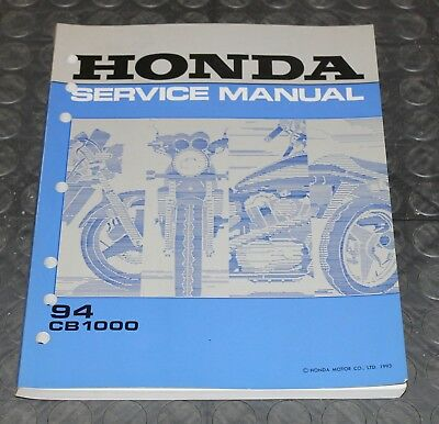 NOS OEM Honda Service Shop Manual NEW 94 CB1000 CB 1000
