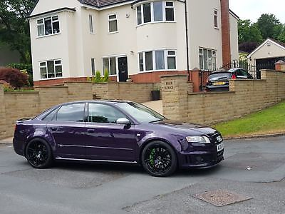 Audi Rs4 42 V8 B7 Merlin Purple Buckets Re Map One Off Modified