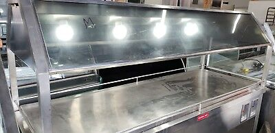 Custom Cafeteria Style Heated Mobile Carving Station