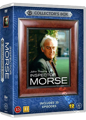 Inspector Morse - Collector's Box NEW PAL Cult 22-DVD Set J. Thaw K. Whately
