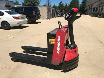 2014 Raymond 4500 LB Electric Pallet Jack Budget Forklift-We will ship!