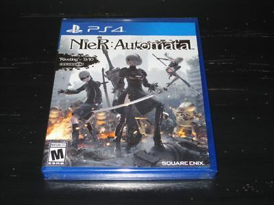 Nier: Automata PS4 (Sony PlayStation 4, 2017) Brand New Ships Fast In A Box