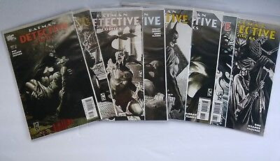 Batman Detective Comics (1937 1st Series) DC comic books lot of 8  #827 - 834 VF