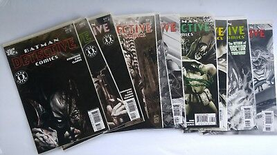 Batman Detective Comics (1937 1st Series) DC comic books lot of 10  817 - 826 VF