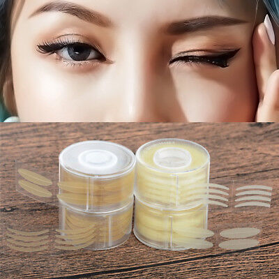 Double Eyelid Stickers Instant Eye Lift Strips Invisible Makeup Easy 600Pcs/Set