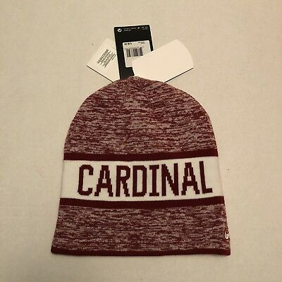 5a4f3ffb964 NEW NIKE STANFORD Cardinal Reversible College Beanie Hat MSRP  30 ...