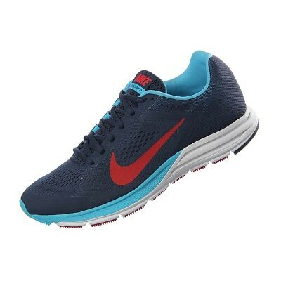 clima Resaltar Canguro  NIKE MEN'S AIR Zoom Structure+ 17 - Navy/Chilling Red/Gamma Blue  (615587-464) - $114.99 | PicClick