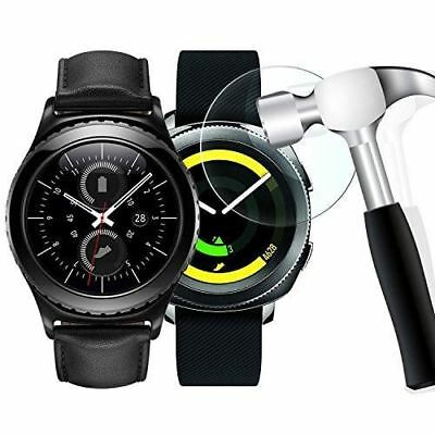 [2 Pack] Gear S2 Screen Protector, WIMAHA [Tempered Glass] Samsung Gear S2 Class
