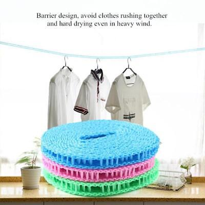 Nylon Hanging Rope Windproof Drying Rope Clothes Hangers Plastic Hang Laundry
