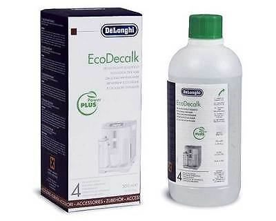 500ml Delonghi EcoDecalk Descaler Decalcifier Coffee Machine Cleaner Espresso