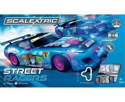 Scalextric - Street Racers Slot Car Complete Set NEW