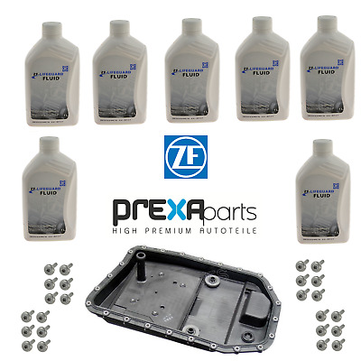 For BMW E60 E61 E90 Auto Transmission Filter Kit w/ 24 Bolts & 7 L Fluid KIT