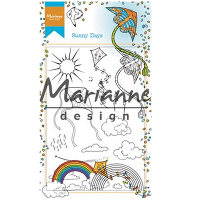 Marianne D Clear Stempel Hetty`s Sunny days HT1635 95x140mm 161635