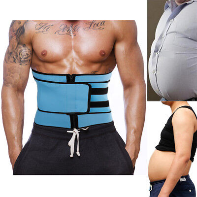 Men Waist Trimmer Belt Pow effect's weight loss Shaper Lower back Lumbar Support