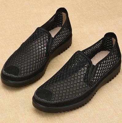 New Men's Breathable Mesh Casual Slip On Loafers Running Water Sports Shoes