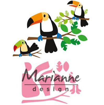 Marianne D Collectable Eline`s Tukan COL1457 83x73mm 381457