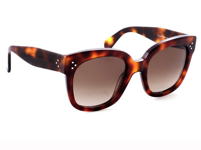 d448abf0f2a Celine New Audrey Sunglasses Brown Tortoishell Brown Lense Cl41805 s 05Lha .