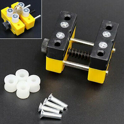 Aluminum Mini Vise Tool Small Hobby Jewelry Table Bench Clamp Workshop Soldering