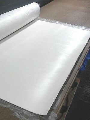 "White FDA Nitrile Rubber Sheet 1/16"" Thk x 12"" x 24"" Rect  60 Duro Std Flex"