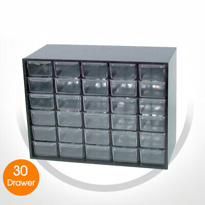 NEW 30 Drawer Unit Parts Cabinet Useful Stack Multiple Units Together HB6323
