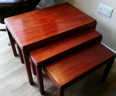 Vintage Gordon Russell Nest Of Coffee Tables. X3. Broadway.