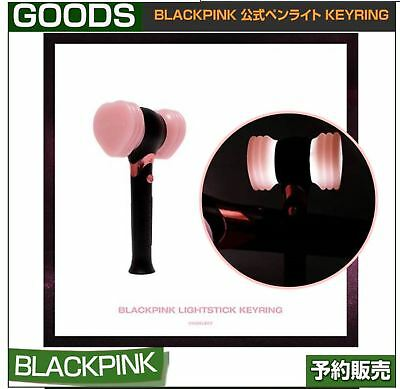 BLACKPINK OFFICIAL LIGHT STICK KEYRING+Store Gift+Tracking NO.(Free Shipping)