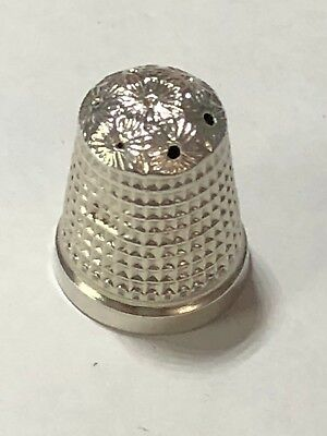 Sterling Silver Thimble - HG & S - Chester -1907