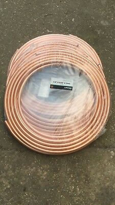 Lawton HVAC Air Conditioning refrigeration grade Copper tube 15m metres 5/8""