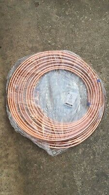 "HVAC Air Conditioning refrigeration grade Copper tube 15m metres 1/2"" Hetcool"