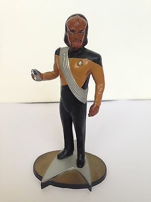 Star Trek 1992 Paramount Pictures Lieutenant Worf Chief Security Officer