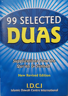 99 Selected Duas - Supplications from the Qur'an  and Sunnah! Box of 100 copies