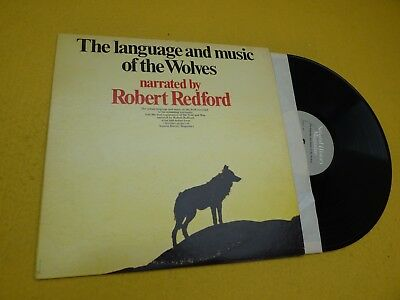 the language and music of the Wolves-Robert Redford (VG++/EX+) LP ç
