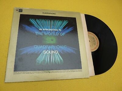 an introduction to the world Quadraphonic sound (EX-/EX-) Columbia  LP ç