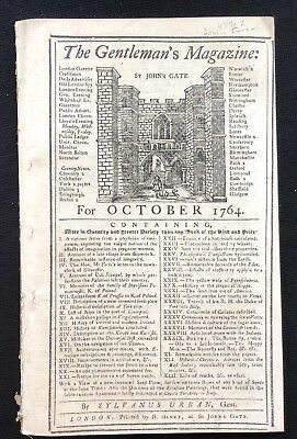 1764 newspaper PEACE TREATY SENECA NATION End FRENCH  INDIAN WAR William Johnson