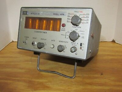 Vintage Monsanto Electronics Counter Timer Model 100 A LQQK!