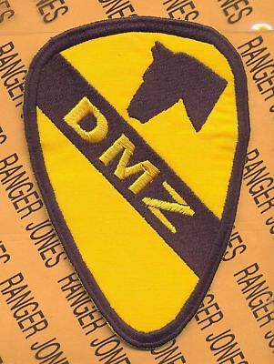 """US Army 1st Cavalry Division DMZ Border Duty 5"""" patch"""