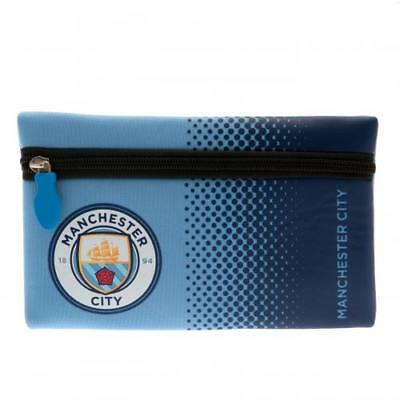 Manchester City FC Official Crested School Pencil Case Present Gift Man City