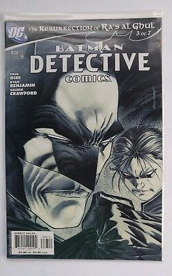 Batman Detective Comics (1937 1st Series) DC comic book  #838B HTF 2nd Print  VF