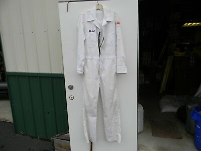 Vintage Mobil Oil Engineers' Lab Coat Coverall Uniform
