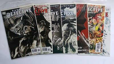 Batman Detective Comics (1937 1st Series) DC comic books lot of 7  #836 - 842 VF
