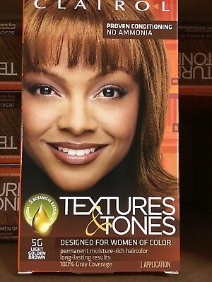 Clairol Textures And Tones 5G Light Golden Blonde Hair Color