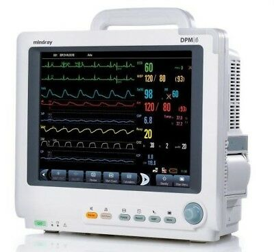 Mindray DPM6 Patient Monitor with Nellcor MPM Module - Biomed Tested