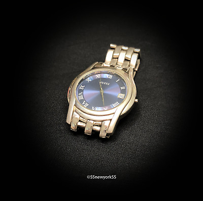 83365e9749d VINTAGE GUCCI MENS Watch Stainless Steel For Parts Repair -  53.00 ...