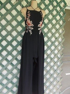 ee0e056de33 J For Justify Black Layered Skirt Jumpsuit Romper Xl New Cruise Beach  Wedding